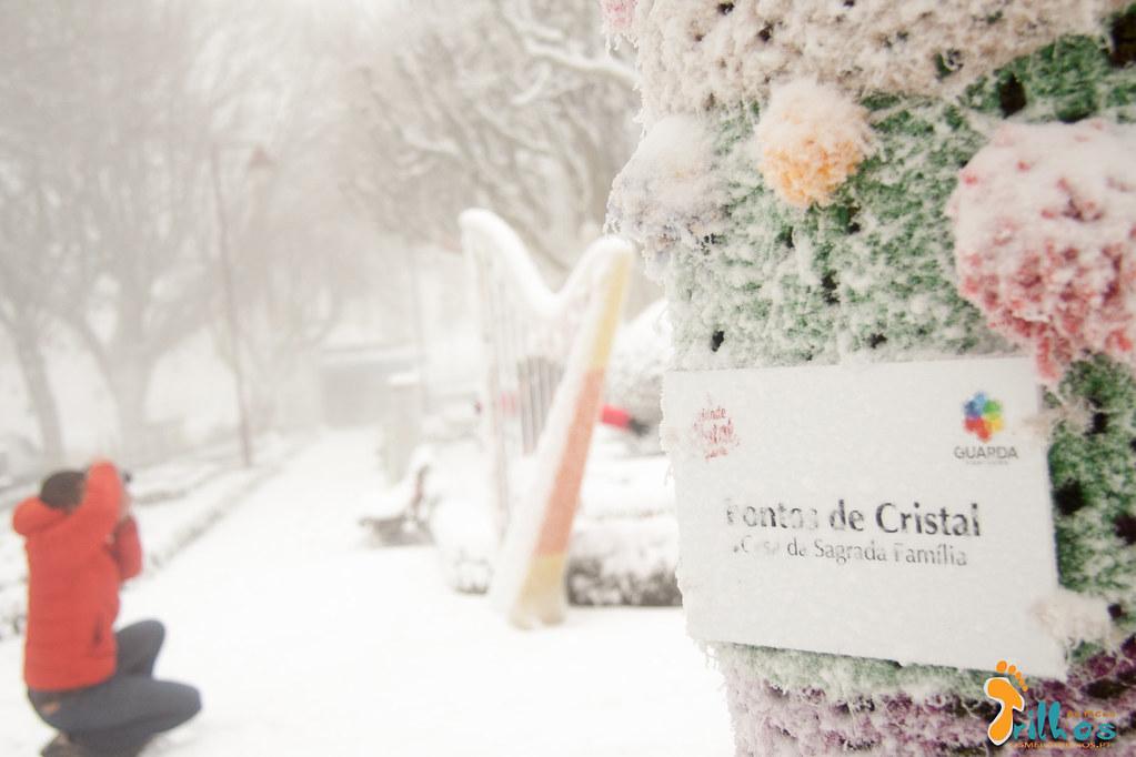 Neve na Cidade da Guarda - janeiro - 2015-24