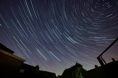 Star trails (Andy Coe) Tags: light sky night dark painting star long exposure paint time trails