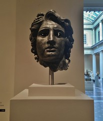 Bronze Portrait Of Alexander The Great (ArtFan70) Tags: nyc newyorkcity sculpture usa ny newyork art america greek king unitedstates roman centralpark manhattan military bust leader alexander met artmuseum ruler themet metropolitanmuseumofart conqueror ancientgreece ancientgreek macedon alexanderthegreat alexanderiii militaryleader alexanderiiiofmacedon bronzeportraitofalexanderthegreat