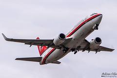Meridiana --- Boeing 737-300 --- EI-IGS (Drinu C) Tags: plane aircraft aviation sony boeing dsc 737 meridiana mla lmml eiigs hx100v adrianciliaphotography