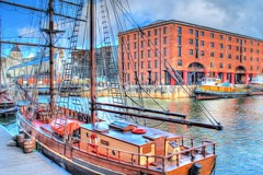 Albert Dock, Liverpool (Kevin From Manchester) Tags: england liverpool dock kevin ships walker hdr mersey albertdock merseyside
