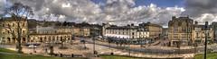 Town Centre autostitch. (sidibousaid60) Tags: uk autostitch panorama buxton derbyshire hdr towncentre photomatix