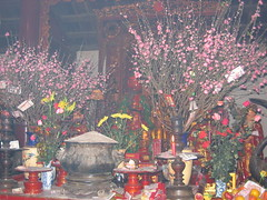 Offerings at Hanoi Temple