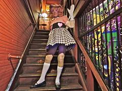 HAPPY VALENTINE'S DAY (VinCvINc) Tags: costume neworleans valentine