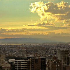 Cotton (m r. t o u c h) Tags: sunset sky skyscape landscape warm bogota cityscape afternoon clean cirrus