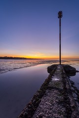 The end (James Waghorn) Tags: longexposure winter sunset sea seaweed beach clouds reflections kent nikon solitude quiet peaceful calm explore groyne lightroom westgateonsea sigma1020f456 d7100