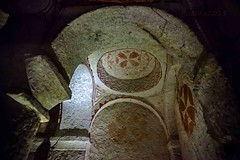 Cave-church (Matilda Diamant) Tags: church museum turkey early unesco cave christianity orthodox fresco unescoworldheritage turkish cappadocia openair anatolia rusalka cavechurch