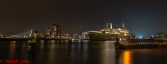 ss Rotterdam (Imran's) Tags: longexposure netherlands beauty dutch loving night boats mercedes benz big amazing rotterdam nikon alone ships scenic loveit attractive d750 pure amateur brussel cclass 2015 eclass greatphotographers nederlans purebeauty vlanders flickrunitedaward nikond750 ppe892 imr4n