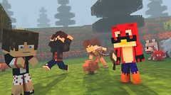 Mini People Mod (doikhongnhumo) Tags: game 3d minecraft