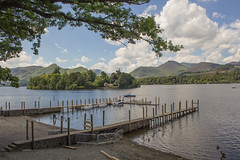 rwentwater  0n a very hot day in July (alsimages1 - Thank you for 860.000 PAGE VIEWS) Tags: camping food lake water beautiful restaurant islands cafe walks sailing hiking lakes scenic lakeside views boating waking tours keswick cruiser hire mountans bassenthwaite