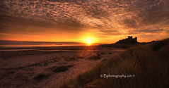 DSC02676.jpgccc (baldridge1271) Tags: bamburgh castle northumberland northeast england coast sunrise landscape beach