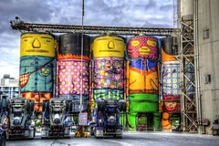 Colorful Cement Company (gr8fulted54) Tags: tonemapped hdr photomatix on1 nikon d7100