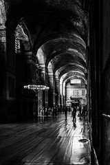 Making sense of it / Good to be back (zgr Grgey) Tags: 2016 24120mm bw d750 hagiasophia nikon unesco worldheritagesites architecture geometry light shade texture istanbul