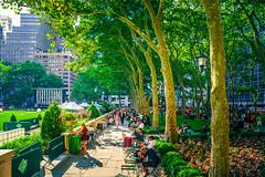 Bryant Park, NY (Arutemu) Tags: nyc ny sony sonya7r newyork newyorkcity nuevayork city america american a7r sigma 24mm summer urban usa us unitedstates cityscape ciudad wideangle