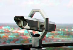 Stereo-kijker Euromast Rotterdam 3D (wim hoppenbrouwers) Tags: stereokijker euromast rotterdam 3d anaglyph stereo redcyan