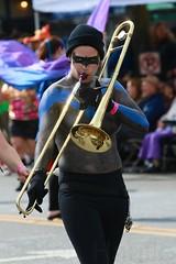 Fremont Solstice 2016  2133 (khaufle) Tags: solstice fremont wa usa marchingband parade trombone