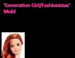 Fashionistas Mold - Generation Girl (Willyssa) Tags: summer girl mouth closed faces head goddess barbie skipper lea desiree teresa asha millie generation fashionistas molds 2016 2015 raquelle mbili