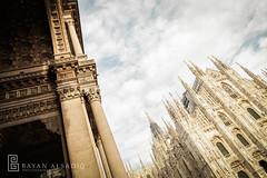 Milan | Instagram: @bayanalsadiq (Bayan AlSadiq) Tags: travel light vacation people italy sunlight milan beauty europe places dayone saudiarabia   2013   saudiphotographer