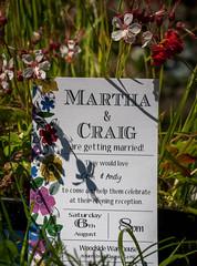 Martha and Craig's Wedding (Cath Scott) Tags: wedding invite martha craig 8th august 2016 cath scott