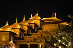 Thai Architecture... (EHA73) Tags: aposummicronm1290asph leica leicam typ240 nightphotography architecture anantara resort building thepalmdubai dubai uae