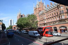 DSC_7460 (photographer695) Tags: london bus route 205 st pancras railway station