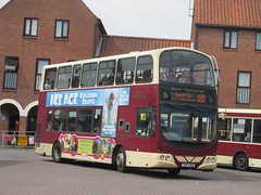 East Yorkshire 715 YX07HKB Sow Hill Bus Stn, Beverley on X80 (1280x960) (dearingbuspix) Tags: eastyorkshire 715 eyms yx07hkb