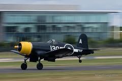 Vought F4U Corsair-6 (Clubber_Lang) Tags: airshow corsair farnborough f4u vought fia2016