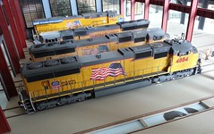 20160715_111009 (Trains By Perry) Tags: hoscale ho locomotiveshop emd sd70m flaredradiator unionpacific up 4884