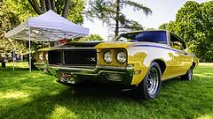 1972 Buick GSX HDR (hz536n/George Thomas) Tags: summer copyright canon buick michigan canon5d nik flint hdr carshow gsx applewood 2016 ef1740mmf4lusm cs5 sloanmuseum sloanmuseumautofair