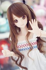 Shimamu... (iamapplepuff) Tags: volks dollfiedream dds idolmster cinderellagirls shimamurauzuki