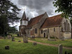The Church at Chilbolton (neilalderney123) Tags: church olympus omd hamshire chilbolton 2016neilhoward