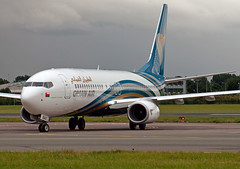 A4O-BAA Boeing 737-81M (Irish251) Tags: a4obaa boeing 73781m 737 738 737800 oman air dub eidw dublin airport ireland delivery flight