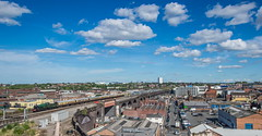 Moor Street Panorama (Terry 47401) Tags: 4965 gwr roodashtonhall moorstreet birmingham railway shakespeareexpress steamtrain