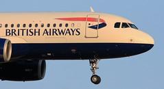 British Airways / Airbus A320-232 / G-TTOE (vic_206) Tags: plane avión canoneos60d canon300f4liscanon14xii bcn lebl britishairways airbusa320232 gttoe
