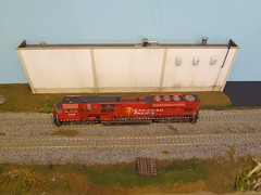 EMD SD90/43MAC CP 9138 (Larry the Lens) Tags: sd901 emd sd9043mac cp 9138 kato hoscale details weathered