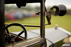 Vintage View (ste_topp) Tags: vintage old school classic mirrow car lamp steering wheel samyang 85mm sony a7 brass window frame bonnet leisure lakes show