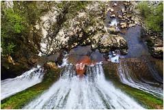 scivolo d'acqua slovenja (Giorgio Serodine) Tags: scivolo chiusa acqua torrente bacino salto pietre alberi muro ponte slovenja canon grandangolo allaperto dallalto