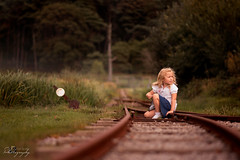 ... where the track ends ... !!! to calm down everyone - tracks closed for trains !!! (Margarita K...) Tags: southwales south wales beautifulwales trucks forest landscape child childhood fairytales girl portrait ngc nikon d5200 mkphotography margaritakphotography