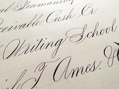 IMG_4467 (xelo garrigs) Tags: caligrafa calligrafia calligraphy pointedpen spencerian penmanship ornamentalscript