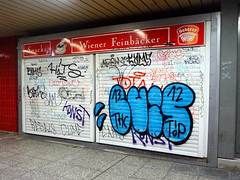 Graffiti in Frankfurt 2015 (kami68k []) Tags: frankfurt ffm 2015 graffiti illegal bombing tag tags tagging handstyle handstyles throwup throw up luis thc hits arem cams cbc pws