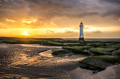 Passion (Paul's Picx) Tags: lighthouse wirral sunsetssunrises newbrighton liverpoolbay beach coast irishsea rivermersey mersey river estuary rocks nikon d7000 sigma 1020