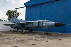 Mikoyan-Gurevich MiG-23MF - 1 (NickJ 1972) Tags: indian air force museum palam af delhi india mikoyan gurevich mig23 flogger sk434
