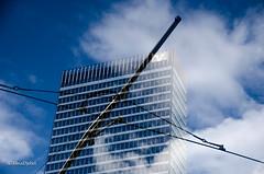 Building (tina djebel) Tags: stadt town city frankfurt gebude architektur mehrfachbelichtung verfremdet abstrakt