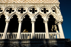 (Rov79) Tags: venezia venice palazzo ducale duke palace arte art mediorientale bizantina tramonto ora magica golden hour building history monument contrast