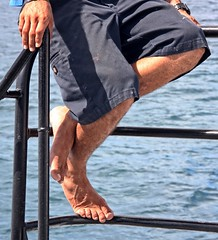 Resting crew man (LarryJay99 ) Tags: feet toes legs hairy men male man guy guys dude dudes hairylegs veinyfeet veiny masculine manly virile