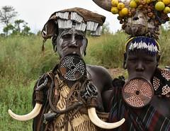 Mursi women (17) (Prof. Mortel) Tags: ethiopia omovalley mursi