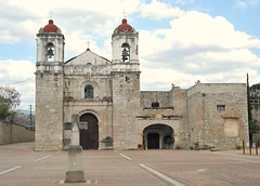 Huitzo Church Oaxaca Mexico (Ilhuicamina) Tags: iglesia mexicana mexican churches oaxacan huitzo architecture buildings