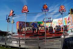 DSC02227 (A Parton Photography) Tags: fairground rides spinning longexposure miltonkeynes fireworks bonfire november cold