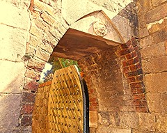 Making An Entrance! (springblossom3) Tags: architecture archway doorway stonework religion tourism winchester cathedral hampshire history