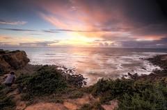 Sunset at So Loureno (sven_breitkopf) Tags: soloureno portugal sunset sun cloud skyy canon eos 60d europe colors women panorama ericeira saolaurenco worldsurfheritage surfing travel nature outdoor stitched sigma sigma1835 f71 iso400 coast atlantic ocean